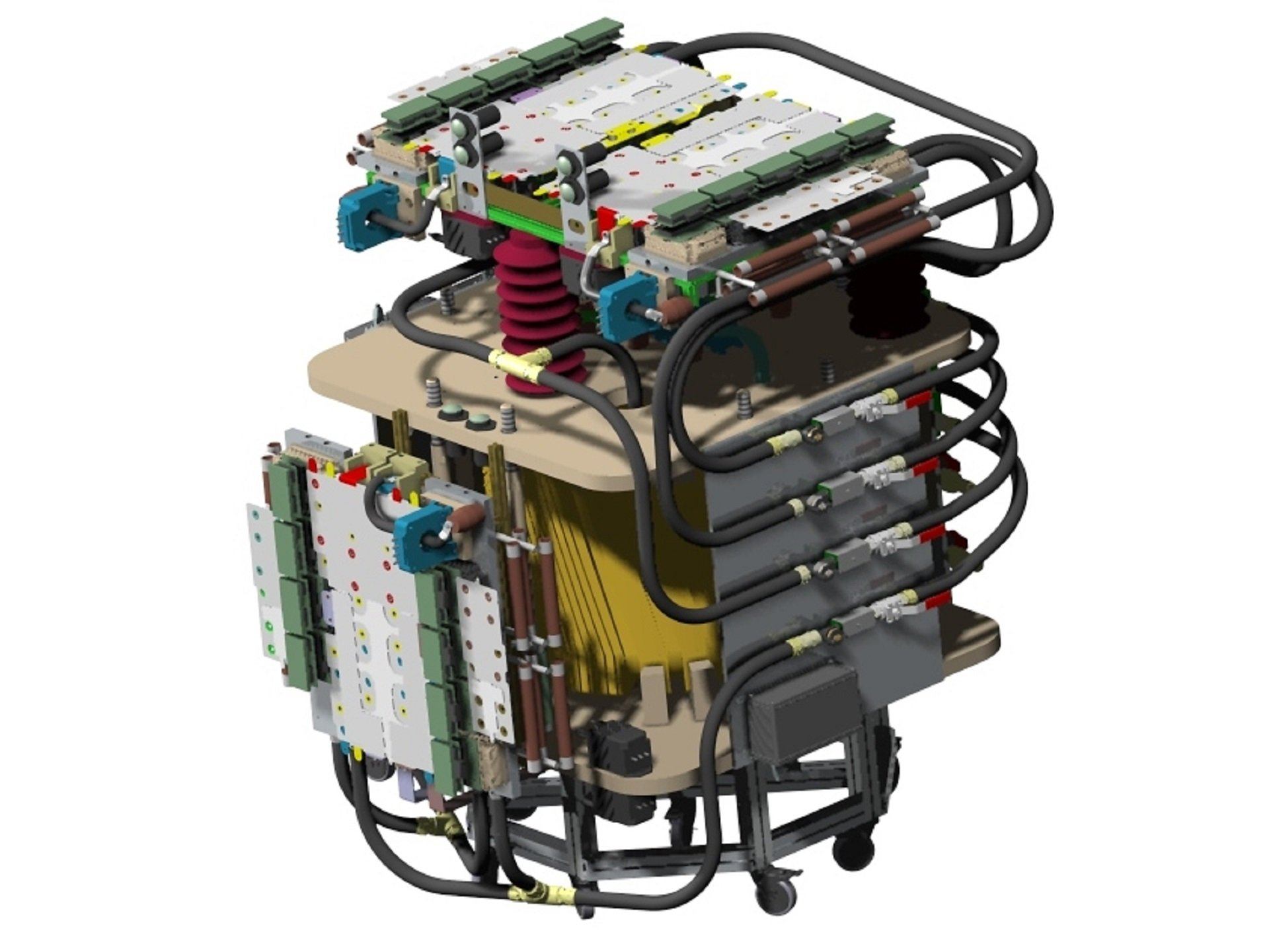 Power Converter Test Bench Supergrid Institute Electrical Circuit Training Board Our Platforms