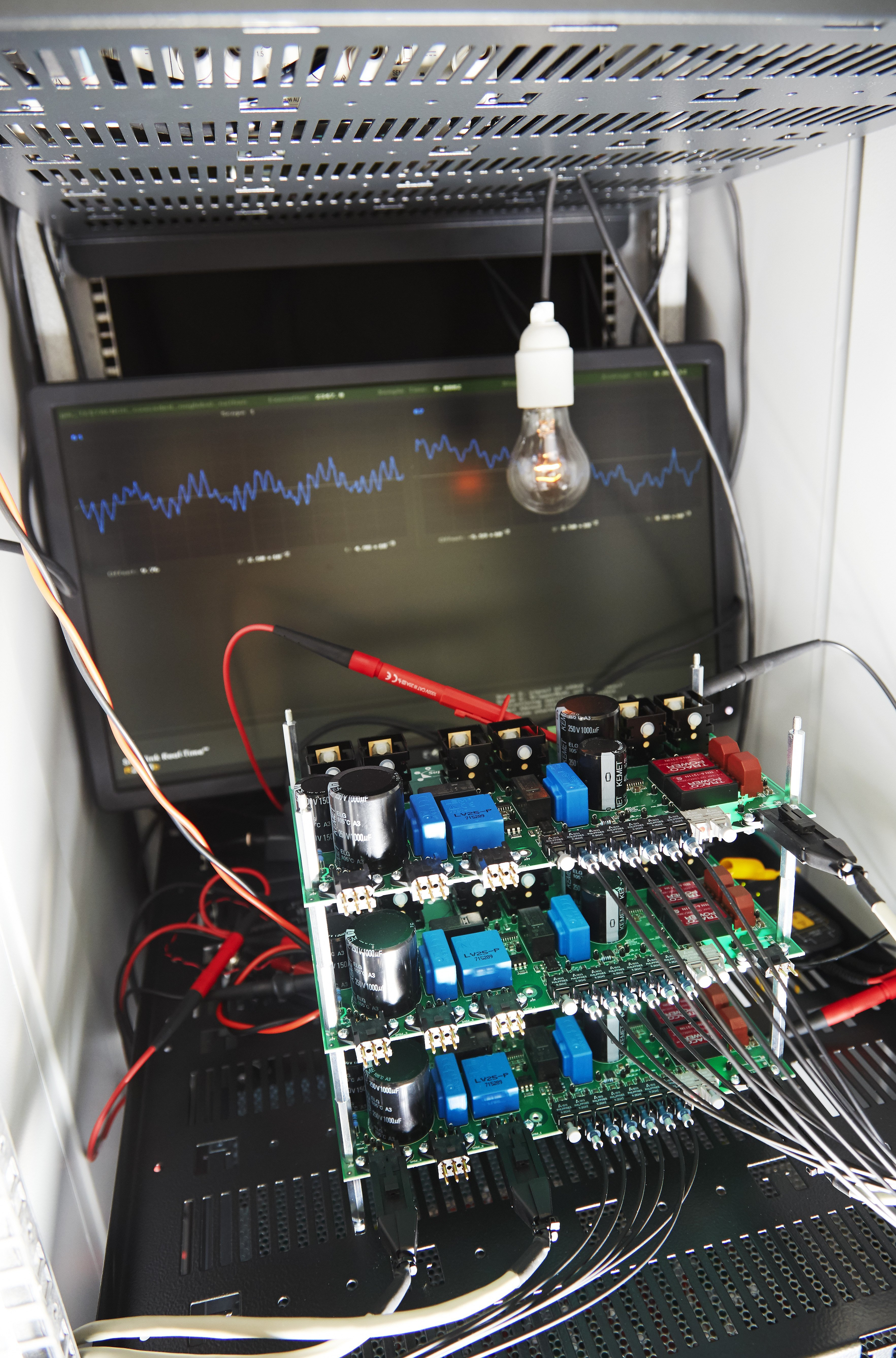 Power converter test platform