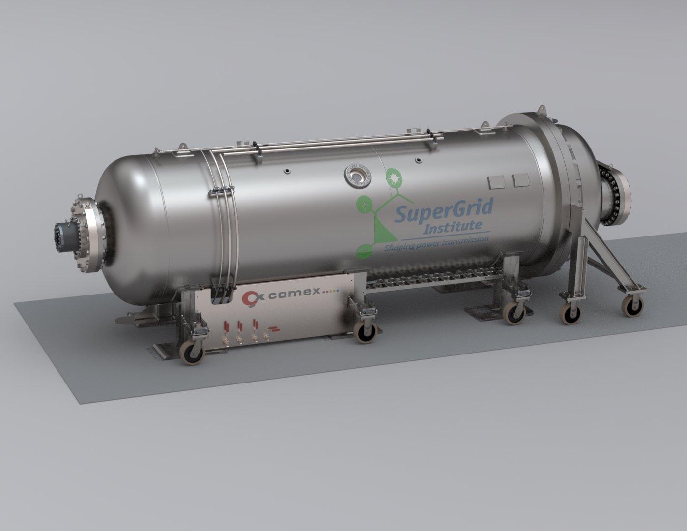 Hyperbaric test platform