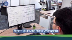 Offshore wind farm design software project