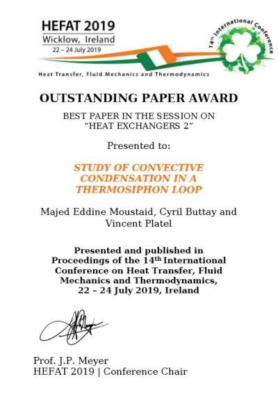 HEFAT 2019_award