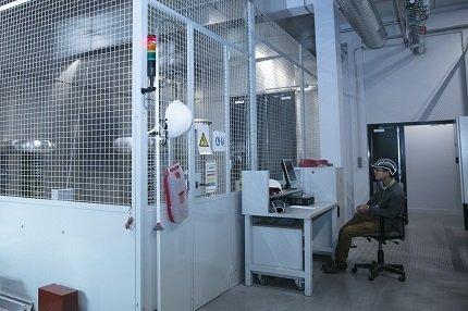 200 kvdc testing area hv laboratory