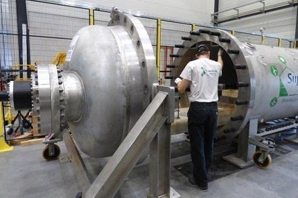 Preparation of hyperbaric HVDC cable test