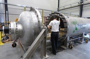 Hyperbaric vessel test platform