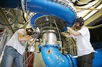 Pump turbine hydro IEC 60193 test platform