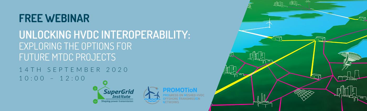 HVDC Interoperability webinar banner