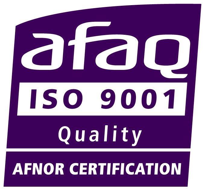 Logo ISO 9001 AFAQ