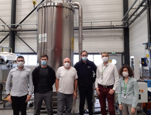 Important milestone with regards to exploiting our cryostat!