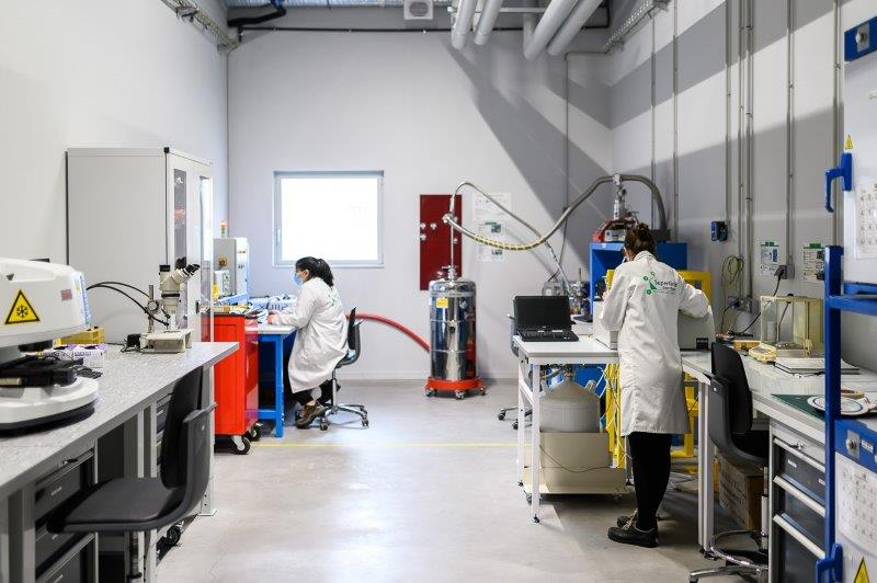 SuperGrid Institute's materials characterisation laboratory ISO 9001 certified.